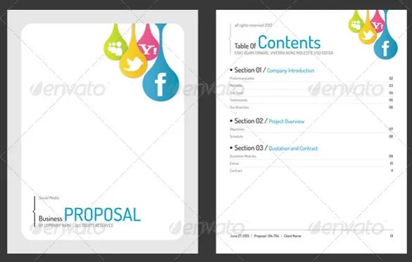 31+ Free Proposal Templates - Word Free  Premium Templates - business proposal word template