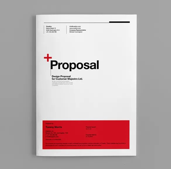 Project Proposal Template Free Download – It Project Proposal Template Free Download