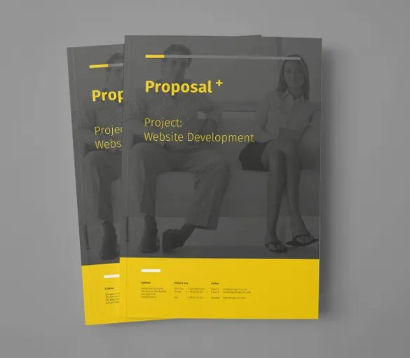 31+ Free Proposal Templates - Word Free  Premium Templates - professional project proposal