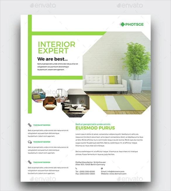 Interior Design Flyer Template - 29+ Free PSD, AI, Vector EPS Format - interior design flyers