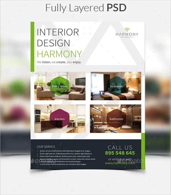 34+ Interior Design Flyer Templates - Word, PSD, AI, Vector EPS
