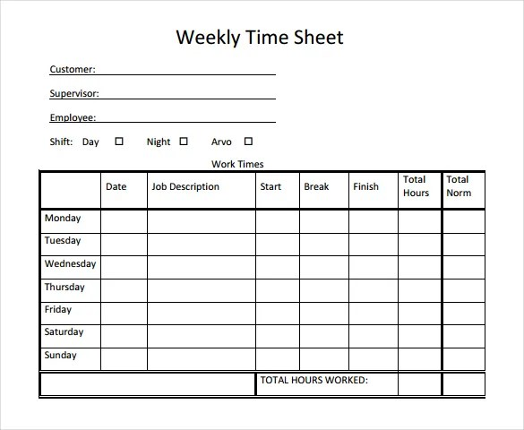 free blank time sheets free printable time sheets forms furlough