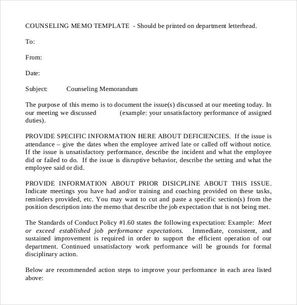 10+ Formal Memorandum Templates \u2013 Free Sample, Example, Format - formal memorandum template