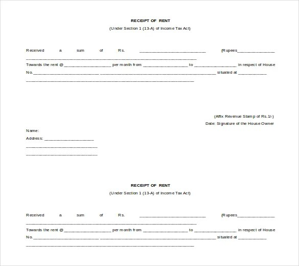 Ms Word Receipt - microsoft word receipt template free
