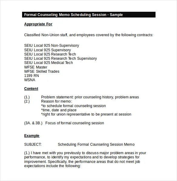 15+ Meeting Memo Templates \u2013 Free Sample, Example, Format Download