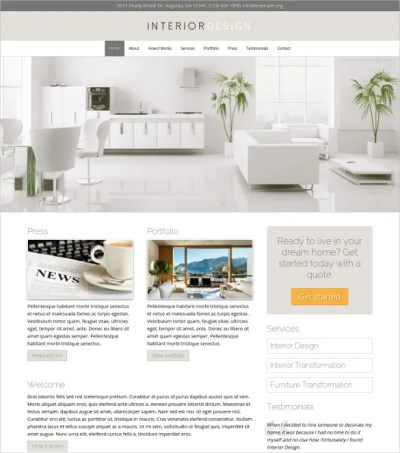 23+ Interior Design Website Themes & Templates | Free ...