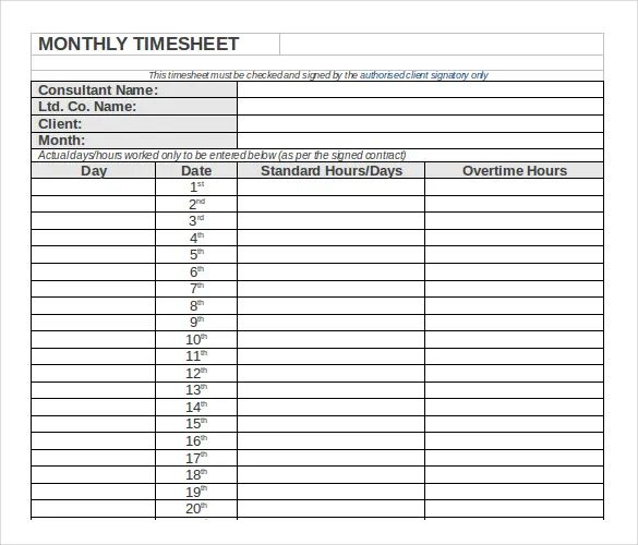 semi monthly timesheet excel