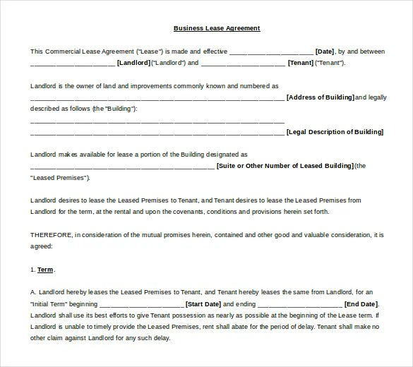 lease agreement template word free download - 28 images - rental - lease template word