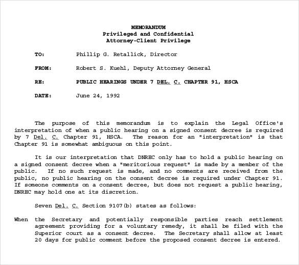 8+ Confidential Memo Templates \u2013 Free Sample, Example, Format