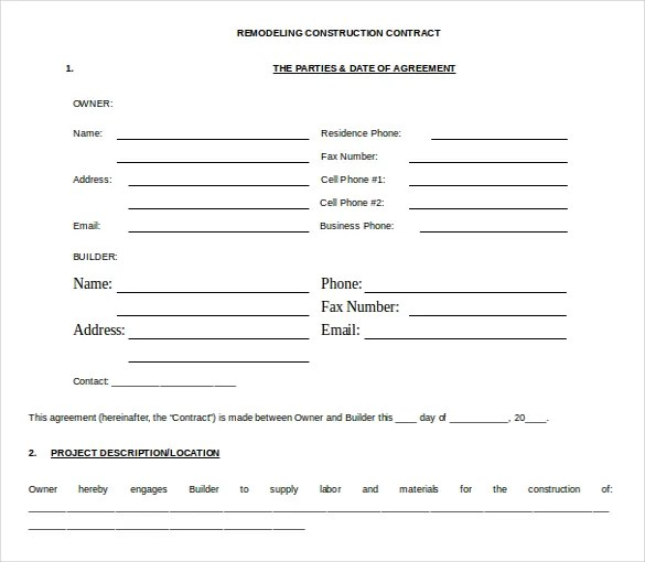word contract template - Goalgoodwinmetals - consulting contract template