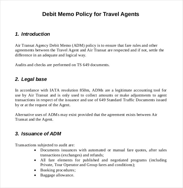 12+ Debit Memo Templates \u2013 Free Sample, Example, Format Download