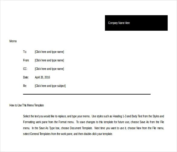 memo template ms word - Delliberiberi - memo sample in word