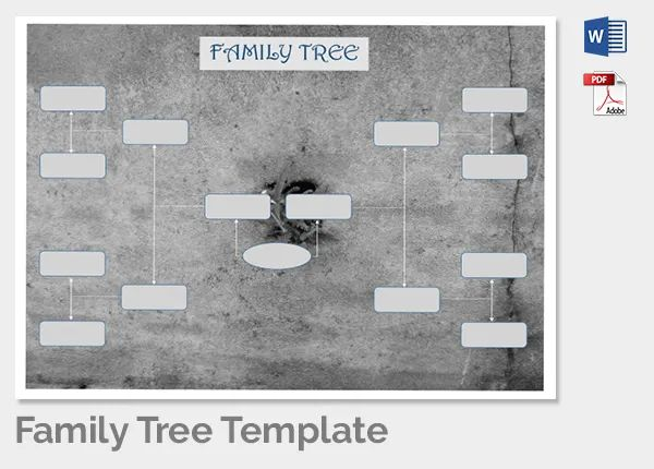free family tree template word doc