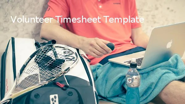 18+ Volunteer Timesheet Templates \u2013 Free Sample, Example Format