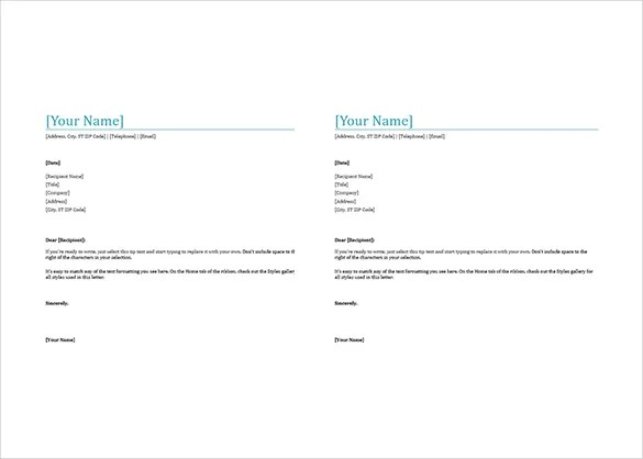35+ Free Download Letterhead Templates in Microsoft Word Free - Free Business Letterhead Templates For Word
