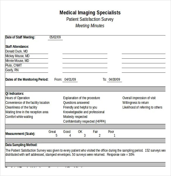 Survey Forms In Excel Excel Survey Template With Option Buttons - patient satisfaction survey template