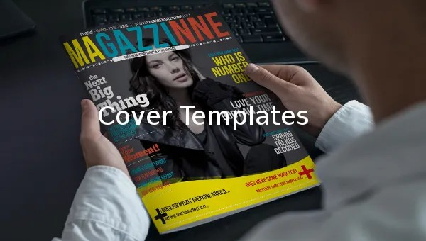 14+ Free Download Cover Templates in MS Word 2010 Format Free