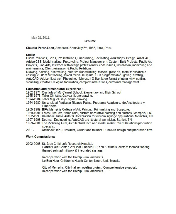 painter resume - Akbagreenw - Painter Resume