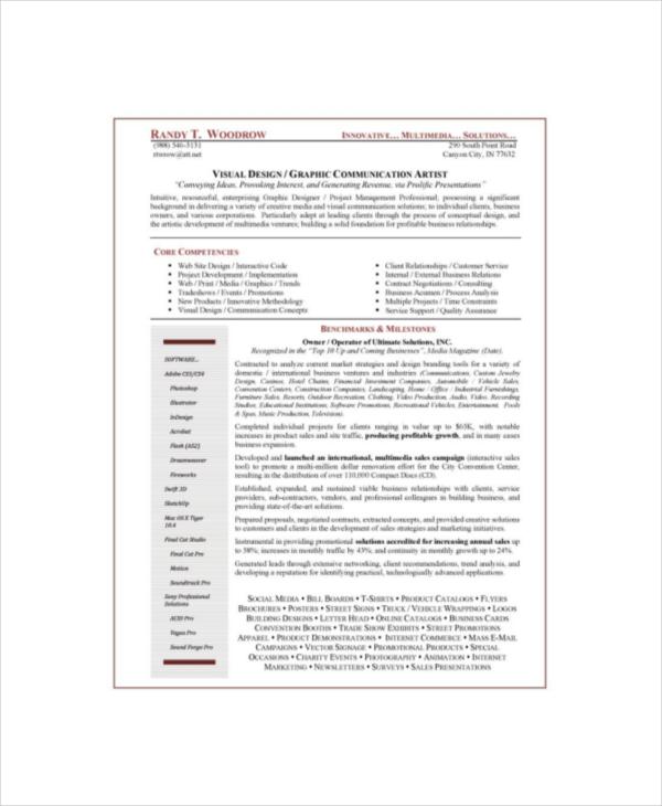 9+ Painters Resume Templates - PDF, DOC Free  Premium Templates