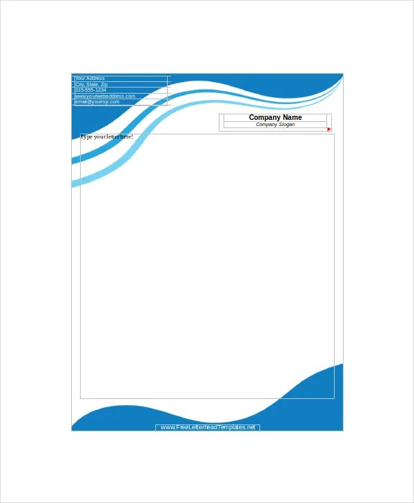 12+ Letterhead Templates - Free Sample, Example, Format Free