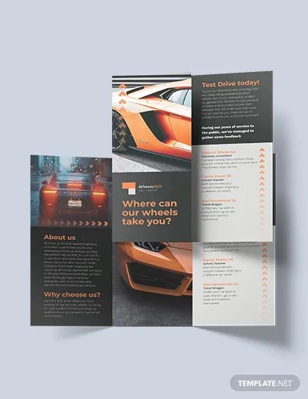 18+ Old Car Brochures - Word, PDF, PSD, EPS, InDesign Free