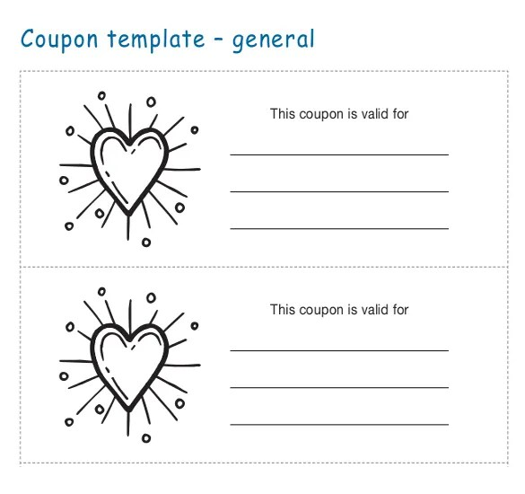 Coupon Templates \u2013 31+ Free Word, PSD, PDF Documents Download Free - coupon layouts