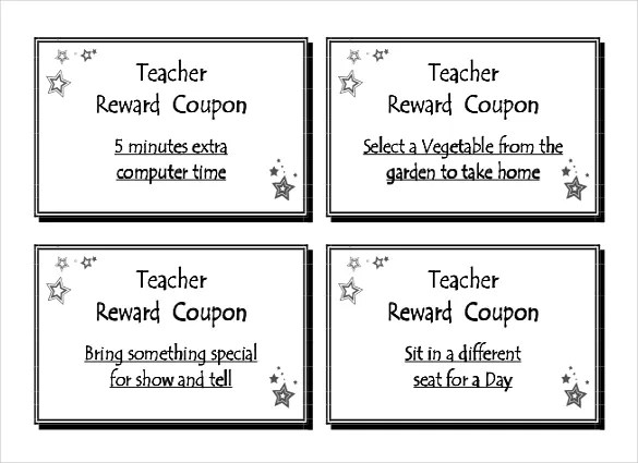 blank coupon template for word - Boatjeremyeaton - Free Printable Templates For Teachers