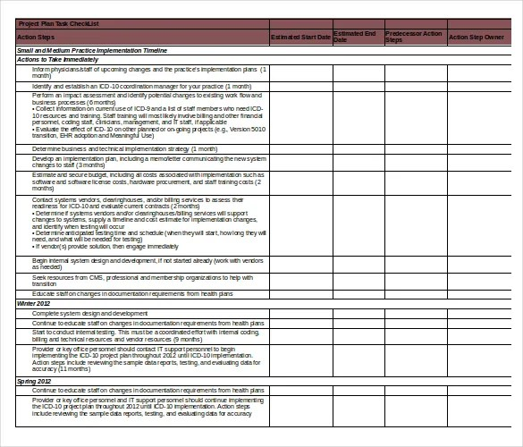 Task Checklist Template \u2013 8+ Free Word, Excel, PDF Documents - Excel Check List