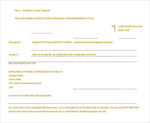 23+ MS Word 2010 Format Quotation Templates Free  Premium Templates