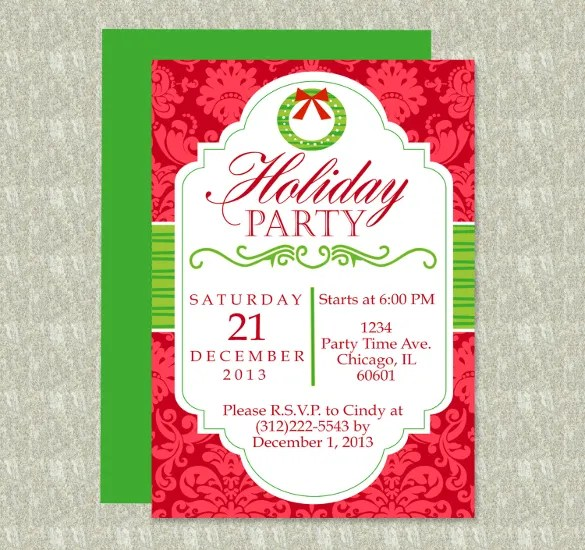 holiday flyer template word - Ozilalmanoof