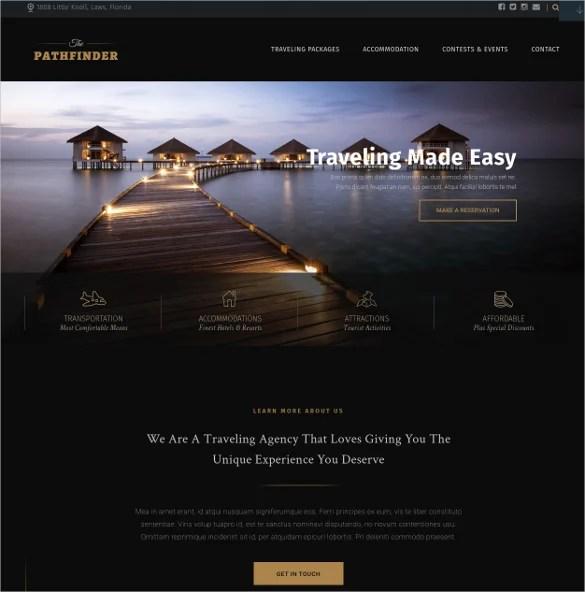 29+ Travel Blog WordPress Themes  Templates Free  Premium Templates