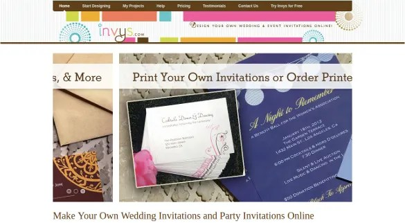 Top Best 12 Online Invitation Makers / Tools to Make Your Invite