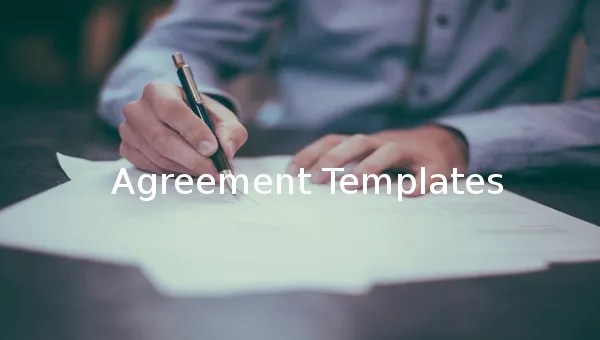 15+ Microsoft Word Agreement Templates Free Download Free