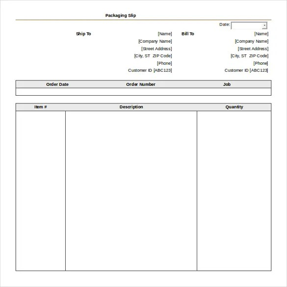 10+ MS Word 2010 Format Slip Templates Free Download Free