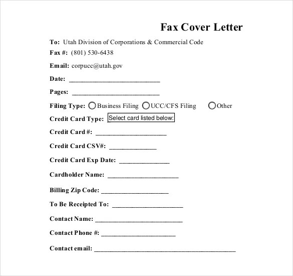 fax cover letter word cover letter for faxing documents