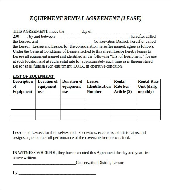 Rental Agreement Templates u2013 15+ Free Word, Pdf Documents - property lease agreement template