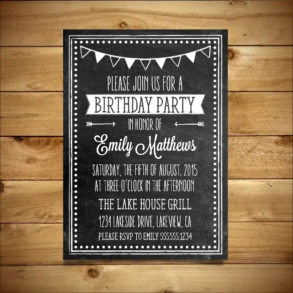 10+ MS Word Format Birthday Templates Free Download Free - how to make a party invitation on microsoft word