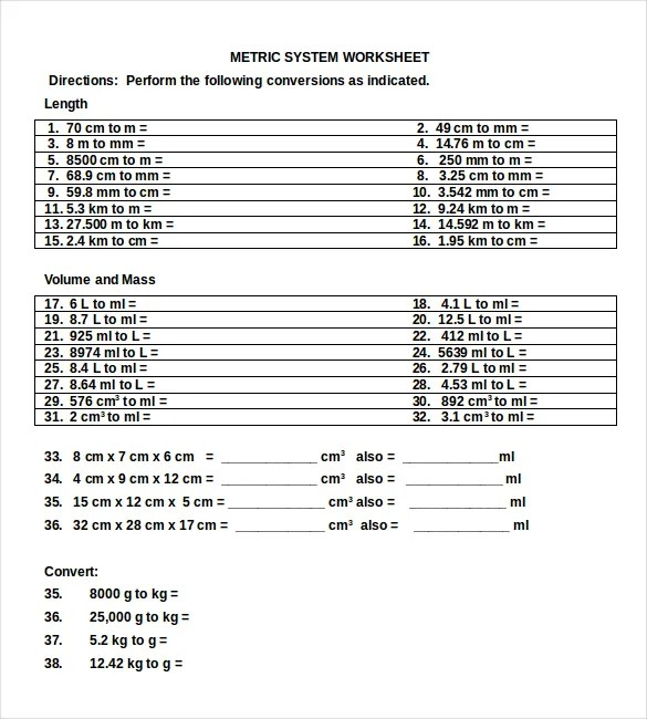 number conversions chart - Deanroutechoice