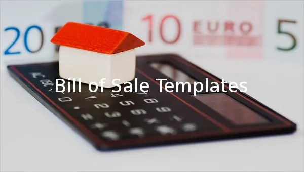 11+ Microsoft Word Bill of Sale Templates Free  Premium Templates