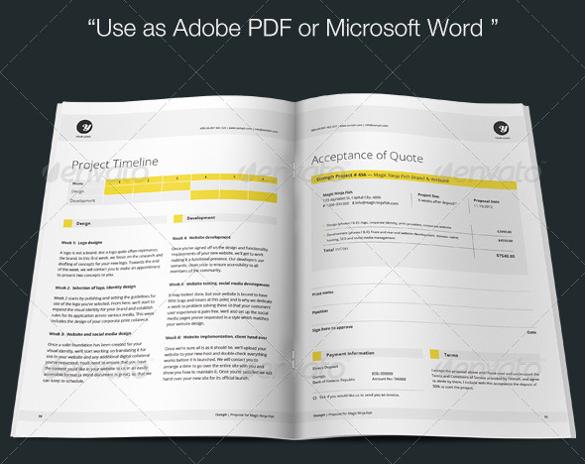 31+ Proposal Templates - DOC, PDF Free  Premium Templates