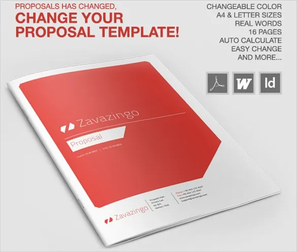 32+ Proposal Templates - Free MS Word Documents Download Free - proposal template in word