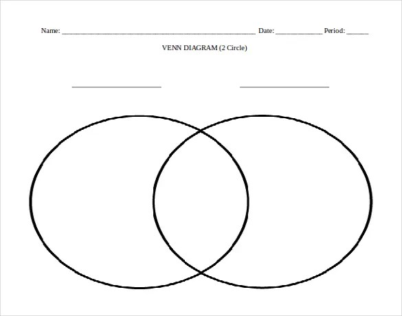 7+ Microsoft Word Venn Diagram Templates Free  Premium Templates