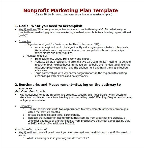 22+ Microsoft Word Marketing Plan Templates Free  Premium Templates - microsoft strategic plan