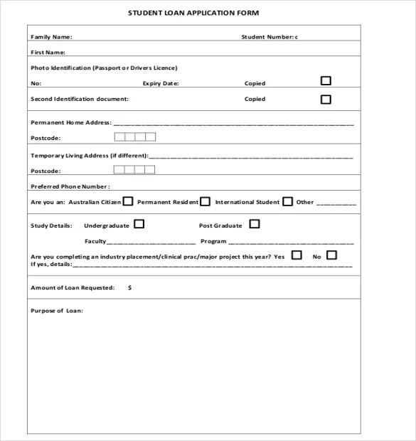 loan application form - Onwebioinnovate