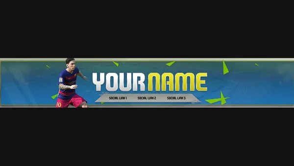 YouTube Banner Templates \u2013 20+ Free PSD, AI, Vector EPS Format