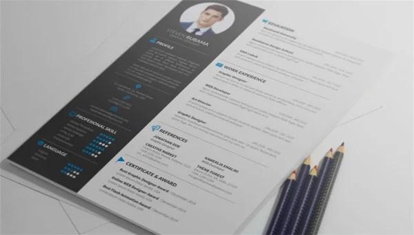 9+ Resume Writing Templates  Samples - DOC, PDF, PSD Free