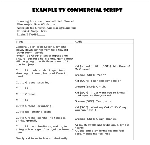 11+ Script Writing Templates - DOC, PDF Free  Premium Templates - blank writing sheet