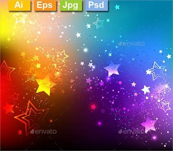 Cool 3d Wallpapers For Laptop Rainbow Background 15 Free Psd Eps Format Free