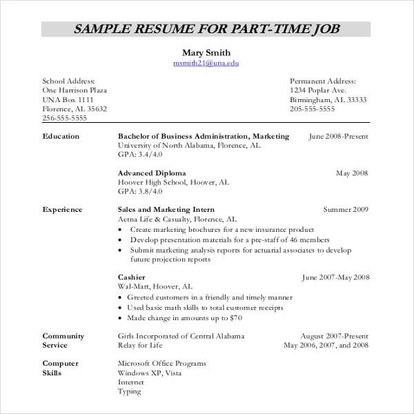 12+ Resume Writing Template \u2013 Free Sample, Example Format Download - format of writing resume