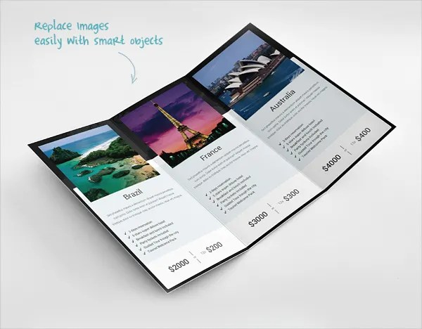 Travel Brochures \u2013 18+ PSD, AI, Vector EPS Format Download Free - Vacation Brochure Template